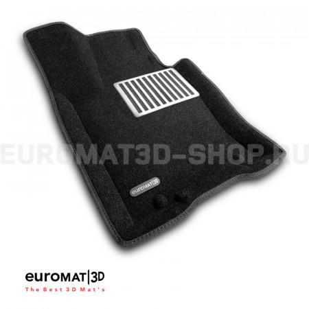 Текстильные 3D коврики Euromat3D Lux в салон для Kia Mohave (2021-) № EM3D-002906